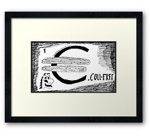 Euroland Troubles Framed Print