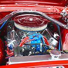 Engine Close-up, Nostalgia Festival, Kurri Kurri, NSW by PollyBrown
