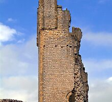 Helmsley Castle by ANDREW BARKE