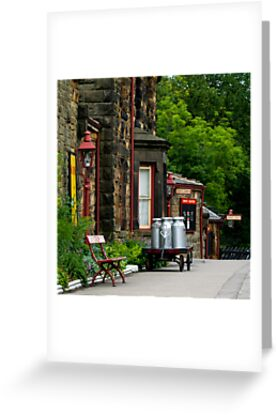 Goathland station by ANDREW BARKE