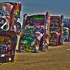 Cadillac Ranch HDR by Jamie  Armbruster