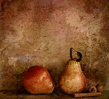 Two Pears by Barbara Ingersoll