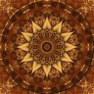 Kaleidoscope in Earth Tones by Lyle Hatch