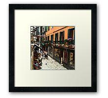 Fresco - Venice Life Framed Print