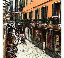 Fresco - Venice Life Photographic Print