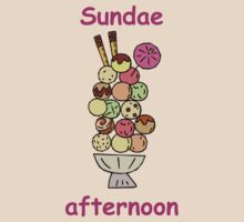 Sundae afternoon tee by theresa knox