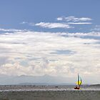 Sailing on Lake Starnberg by Kasia-D