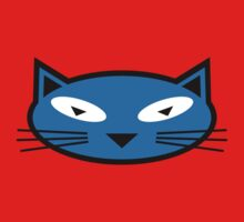 Blue Kitty Kids Clothes
