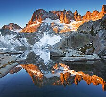 Iceberg Lake Sunrise by Nolan Nitschke