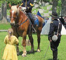 Impromptu conversation: U.S. Civil War reenactment by Ray Vaughan