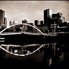 Melbourne, Yarra Crossing by Andrew Wilson