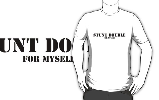 Stunt Double - for myself by Martin Pot