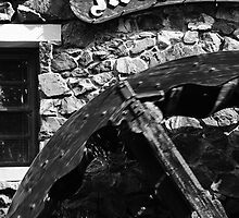 Water Wheel, Montville QLD by Stuart Cox