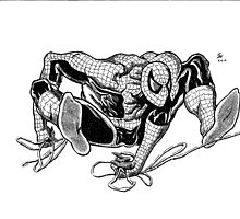 Spiderman Comic Book Style Image by chrisjh2210