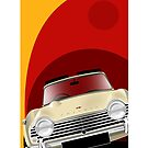Triumph TR4A Illustration by Autographics