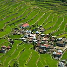 2000-year old Batad Rice Terraces, Philippines by Andrew &amp; Mariya  Rovenko