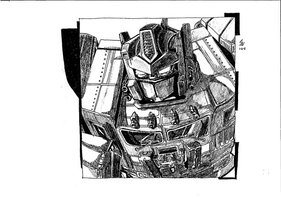 Optimus Prime Transformers Comic Book Image by chrisjh2210