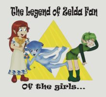 The Legend of Zelda... Of the girls! by iedasb