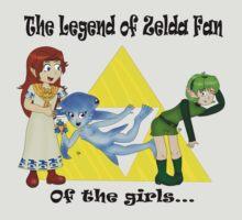 The Legend of Zelda fan... Of the girls! by iedasb