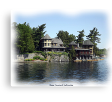 St. Lawrence Seaway/Thousand Islands #6 Canvas Print