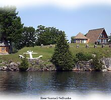 St. Lawrence Seaway/Thousand Islands #7 by Rose Santuci-Sofranko