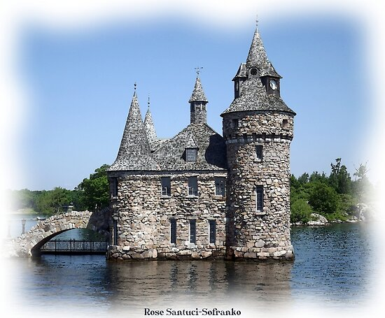 St. Lawrence Seaway/Thousand Islands #11 - Boldt Castle by Rose Santuci-Sofranko