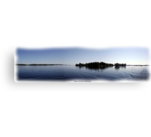St. Lawrence Seaway/Thousand Islands #26 (Panoramic View) Canvas Print