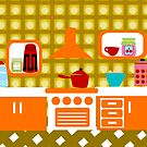 70's Kitchen by Sonia Pascual