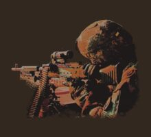 Machine Gunner T-Shirt