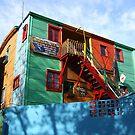 La Boca artists' colony by Maggie Hegarty