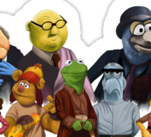 Firefrog (Firefly / The Muppets) - Group Shot #1 Sticker