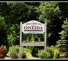 Welcome to Oneida (New York) by Rose Santuci-Sofranko