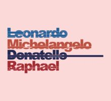 Leonardo, Michelangelo, Donatello, Raphael Kids Clothes