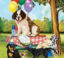 Puppy Party by Amanda Francey