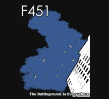 The Battleground Is Everywhere (blue) by f451