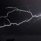 "6/8/2011 Electrical Storm, ""Lightning Strike # 3"" by MicheleDAmicol"