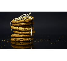 --- chocolate chip cookies ... Photographic Print