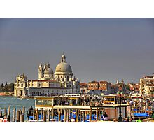 Basilica of St Mary of Health Photographic Print