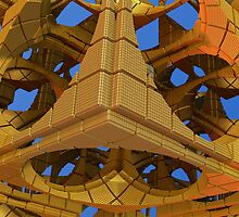 Tumbling Tower by walstraasart