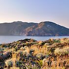 Lipari seen from Vulcano (R) by Mario Curcio
