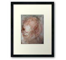 Under David's Face Framed Print