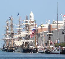 Tall Ships by Janet Ehlers