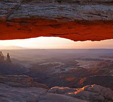 Morning View at Mesa Arch by Craig Durkee