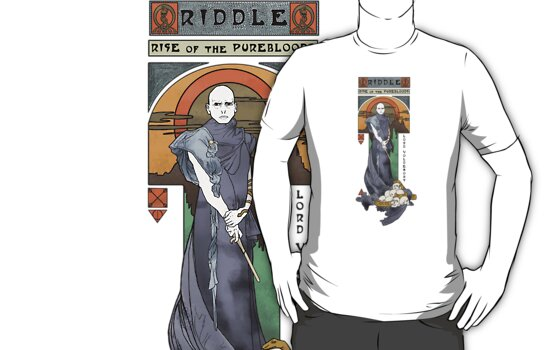 Rise of the Purebloods Shirt by Karen  Hallion