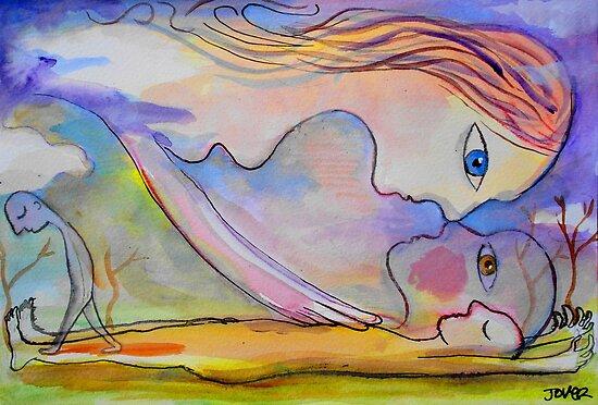 cloud dreaming by Loui  Jover