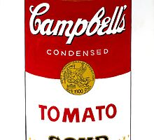Campbells Soup Can by axemangraphics