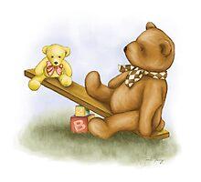Teddy Seesaw by amalou