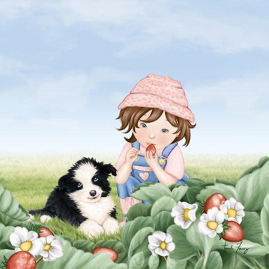 Strawberry Patch by amalou