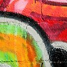 Textured Graffiti Closeup by yurix
