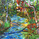 Afternoon At The Creek  SOLD by Deborah Glasgow